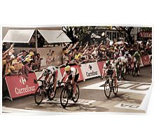 Andre Griepel and Mark Cavendish Poster