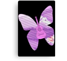 acoustic butterfly  Canvas Print