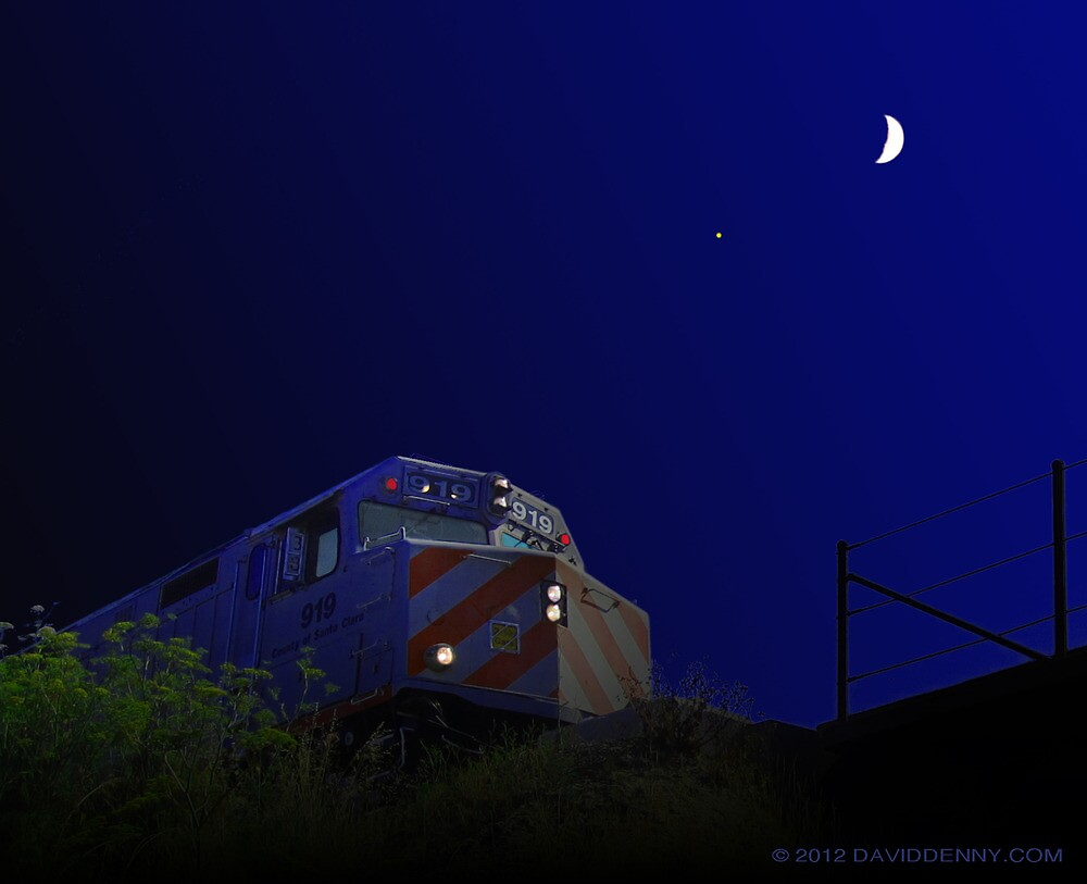 Midnight Train by David Denny