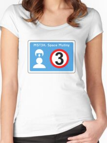 put your helmets on (version 2) Women's Fitted Scoop T-Shirt