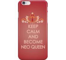 Keep Calm - Neo Queen Crown Iphone iPhone Case/Skin