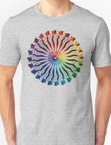 Wrench Color Wheel B Unisex T-Shirt