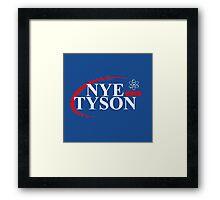 Nye Tyson 2016 Framed Print