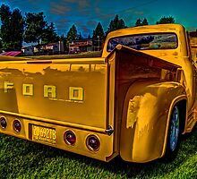 '56 & Yellow by Steve Walser