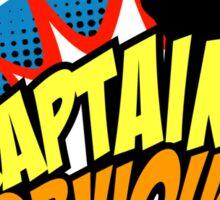 Captain Obvious Sticker Sticker