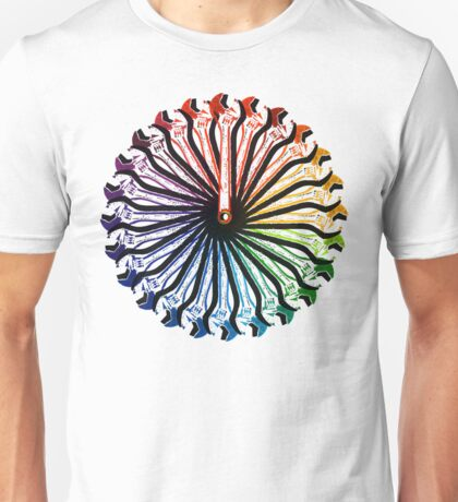 Wrench Color Wheel A Unisex T-Shirt