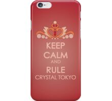 Keep Calm - Neo Queen Crown Iphone 2 iPhone Case/Skin