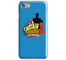 Captain Obvious iPhone iPhone Case/Skin