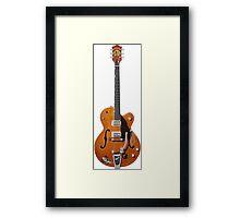Gretsch Rockabilly Guitar Framed Print