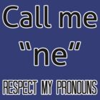 Ne/nem pronouns by Elliot Downes