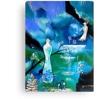'White Wings' Canvas Print