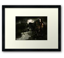 Ride on Through the Night - Ride On Framed Print