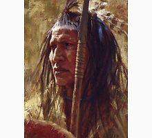 Resolute Strength, Blackfoot, Native American Art, James Ayers Studios Unisex T-Shirt