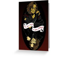 Do We Have a Deal, Dearie? Greeting Card
