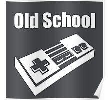 Old School Gamer Poster