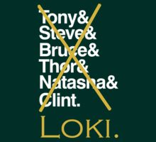 The Avengers - Loki'd! by NevermoreShirts
