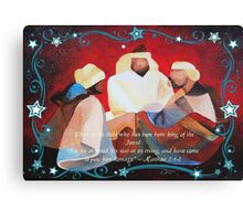 Where Is The Child Who Has Been Born King Of The Jews? Canvas Print