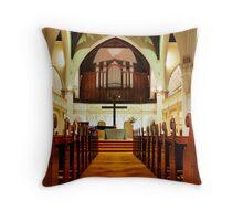 Wesley Uniting Church Interior Throw Pillow