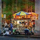 Manhattan Street Vendor by Stuart Row