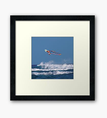 True Levitation Framed Print