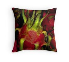 Dragon Fruit...Don't Be Scared! Throw Pillow