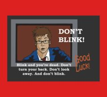Doctor Who - Don't Blink Kids Clothes