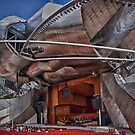 Pritzker Pavilion from the Side by anorth7