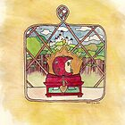 Snow White Nouveau [iPhone / iPod case / Print] by swelldame