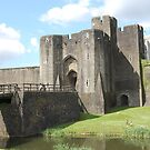 Caerphilly Castle & Gatehouse by Ross Sharp