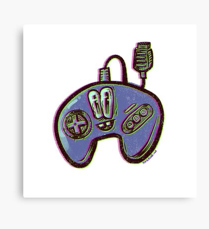 3-button Controller  Canvas Print