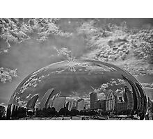 Chicago Afloat B/W Photographic Print