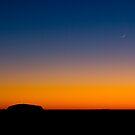 Two Rocks, Uluru, Northern Territory Australia by Amber  Williams