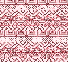 Triangle Pattern  by Mariya Olshevska