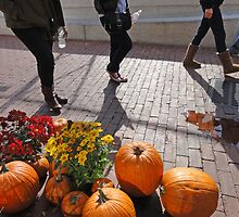 People and Pumpkins  by Eugenia Gorac