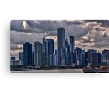 Striking Cityscape Canvas Print