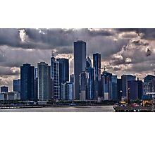 Striking Cityscape Photographic Print