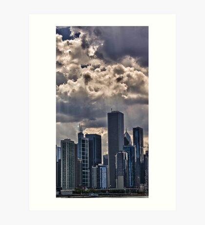 Striking Cityscape 2 Art Print