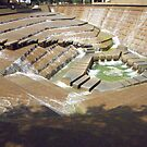 """""""Active Pool"""" -- Ft Worth Water Gardens, Ft Worth, Texas by AJ Belongia"""