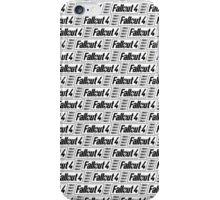 Fallout 4 Transparent Pattern iPhone Case/Skin