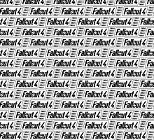 Fallout 4 Transparent Pattern by LightPopArt