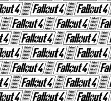 Fallout 4 Transparent Pattern Sticker