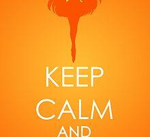 Keep Calm - Sailor Venus Poster by SimplySM
