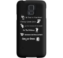 Disney Lessons learned 2 (White) Samsung Galaxy Case/Skin