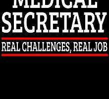 MEDICAL SECRETARY REAL CHALLENGES, REAL JOB by badassarts