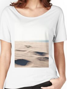 Footprints in the Sand Women's Relaxed Fit T-Shirt