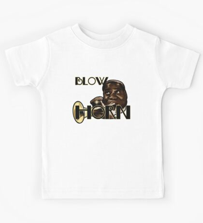 Trumpet - Blow Horn with Bubbles Kids Tee