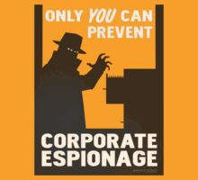 Only You Can Prevent Corporate Espionage by Azpackersfan13