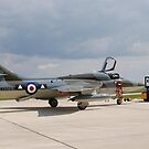 Hawker Hunter, T.7, WV372 by Ross Sharp