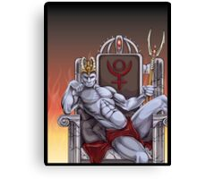 Hades Enthroned Canvas Print