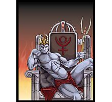 Hades Enthroned Photographic Print